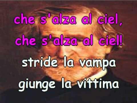 Stride la vampa G. Verdi Il trovatore) Francesca Albanese