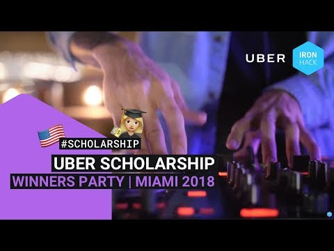 Uber Scholarship Winners Party 2018!