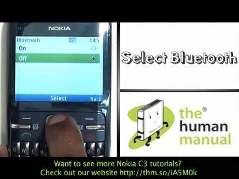 activating bluetooth nokia c3 the human manual youtube rh youtube com manual nokia c3-00 rm 614 manual nokia 3310