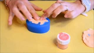 Come fare un neonato in pasta di zucchero