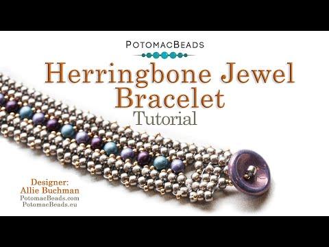 Herringbone Jewel - Bracelet Tutorial