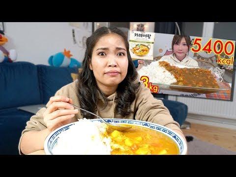 Ich esse Mukbang wie diese Japanerin (5000 Kalorien)
