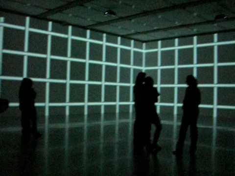 Peter Kogler video instalation @ MUMOK  Wien