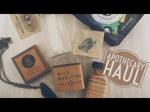 Apothecary Haul + MORE
