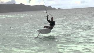 Adam Withington Kite Foil Boarding Transitions 101