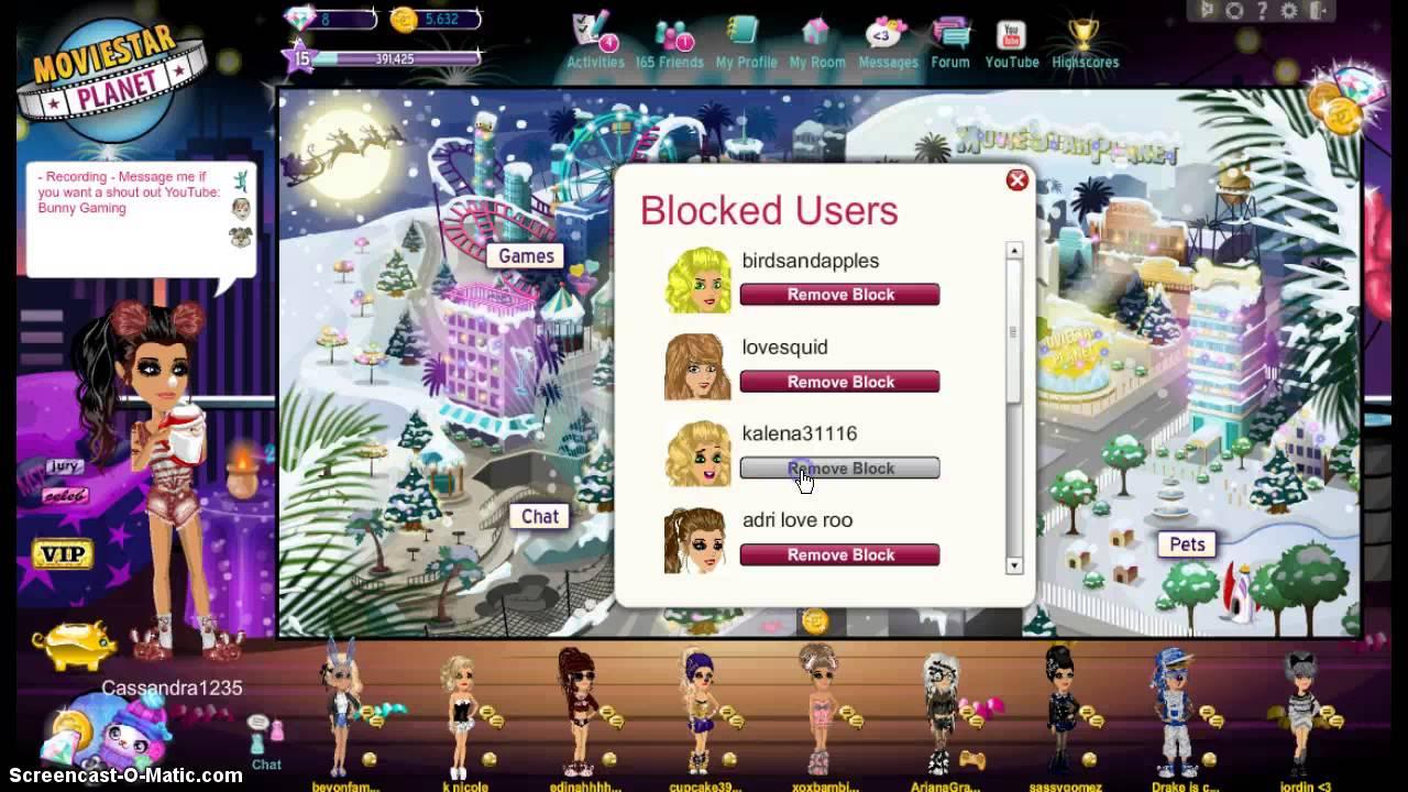 MSP Unblocking people