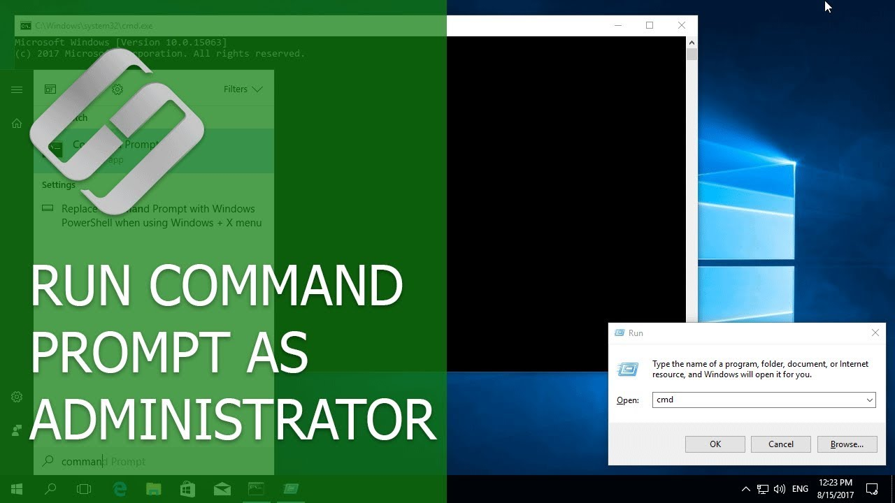 How to Run Command Prompt as Administrator in Windows 10, 8 or 7 💻⌨️👨‍💻