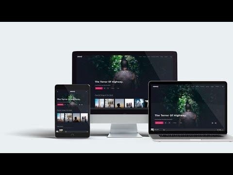 Multi Devices Responsive Web Mockup