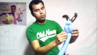PUPPY DOG . Aprenda hacer figuras de globos. Learn to make balloon figures Vinny the twister