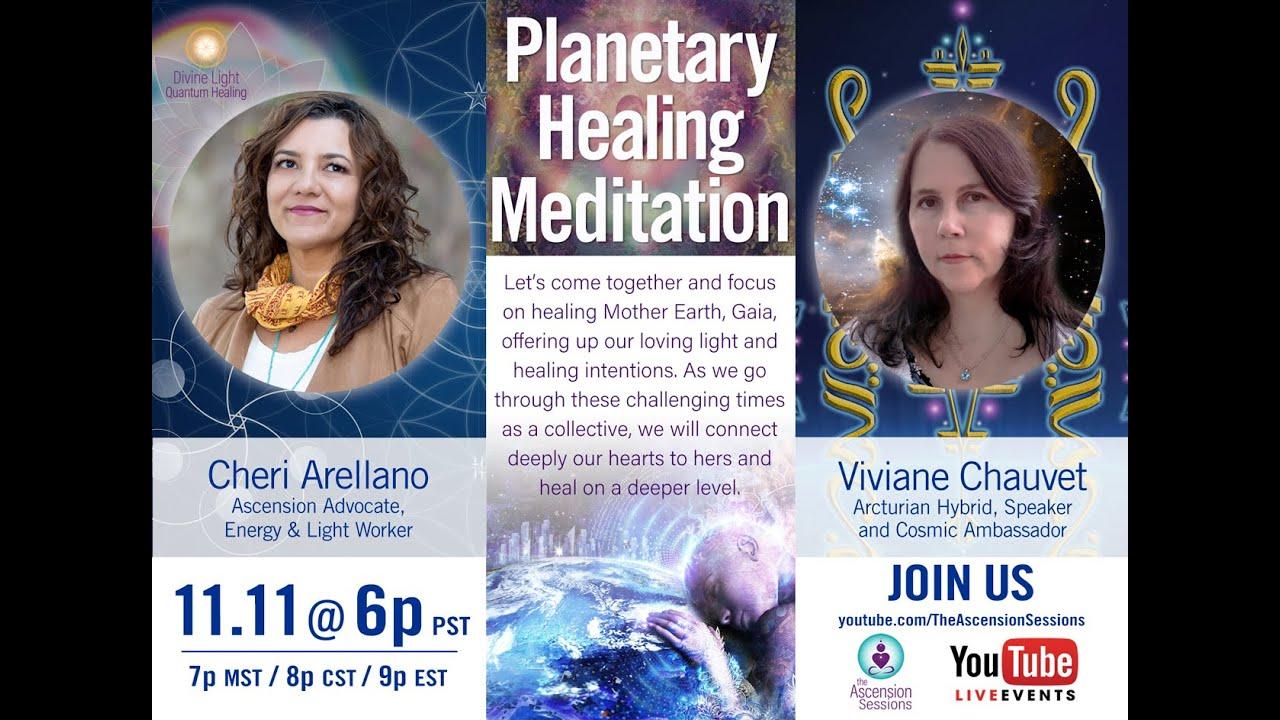11.11 Planetary Healing Meditation