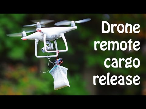 Drone Quadcopter remote cargo release how to build from YouTube · Duration:  9 minutes 7 seconds
