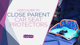 Car Seat Protectors Demonstrated By The Nappy Lady