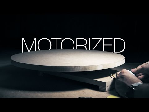 Make A Motorized Lazy Susan