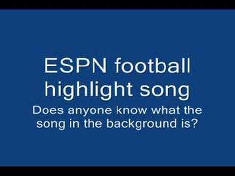 Espn Football Highlight music