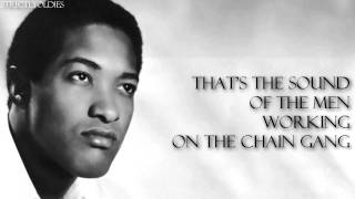 Sam Cooke Chain Gang lyrics