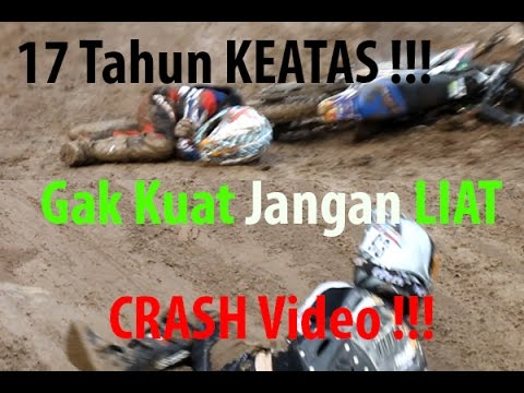 Crash Video Grasstrack  - Terjun Bebas | OtomotifZone