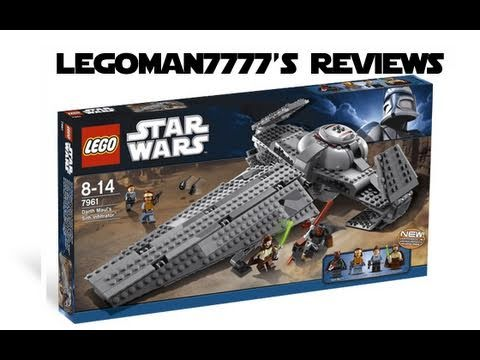 Lego star wars 7961 darth maul 39 s sith infiltrator review youtube - Croiseur interstellaire star wars lego ...