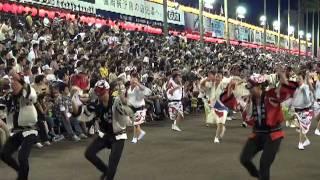2011 阿波踊り 歌舞伎18番連と千原せいじの声 週刊誌騒がせた社長って...