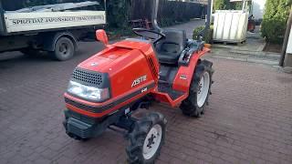 Kubota ASTE A-155 traktorek ogrodniczy SPRZEDAM. www.akant-ogrody.pl