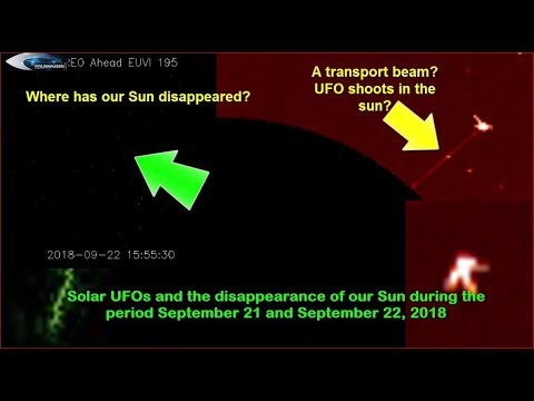 nouvel ordre mondial | Solar UFOs and the disappearance of our Sun during the period September 21 and September 22, 2018