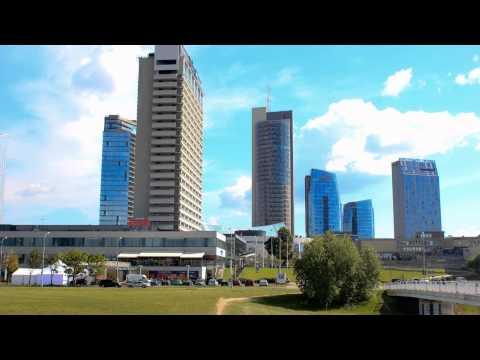 A day in Vilnius (timelapse)