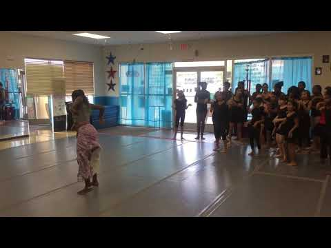 African Dane class with Ms.China at Studio 305 Dance School