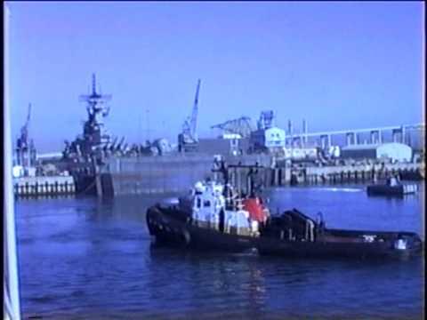Battleship New Jersey  1990 part 4