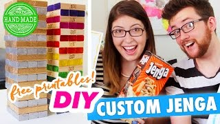 DIY Custom Jenga Game with Liam Dryden - ALL REQUEST AUGUST - @HGTVHandmade