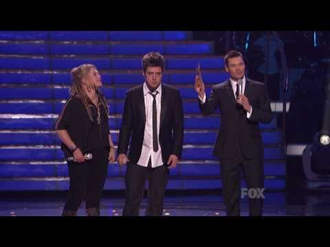 American Idol Season 9 - Lee DeWyze's winning moment & song