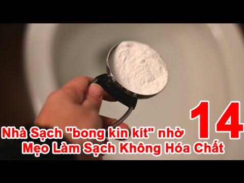 """Nhà Sạch """"bong kin kít"""" nhờ 14 Mẹo Làm Sạch Không Hóa Chất"""