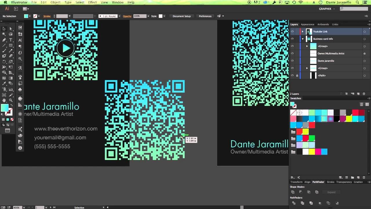 Develop your personalized QR Codes using Illustrator and InDesign ...
