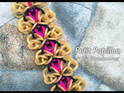 Petit papillon hook only tutorial youtube for Tutorial papillon