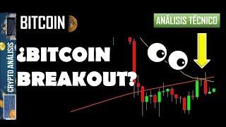 Bitcoin ¿BREAKOUT?   Btc/Criptomonedas TRADING ANÁLISIS/NOTICIAS