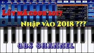 ORG2018 MOBI 🎹 Hướng dẫn lấy code nhập vào ORG 2018 HD