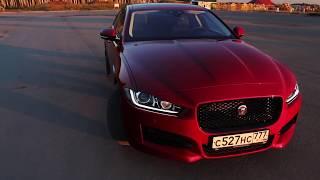 Чем он лучше BMW? тест драйв Jaguar XE (Ягуар ХЕ) на ходу POV