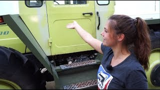 Ölwechsel mit FRAUENPOWER | Anna zeigt wie es geht 👍🏼 | MB-Trac 1500 | Tutorial #2