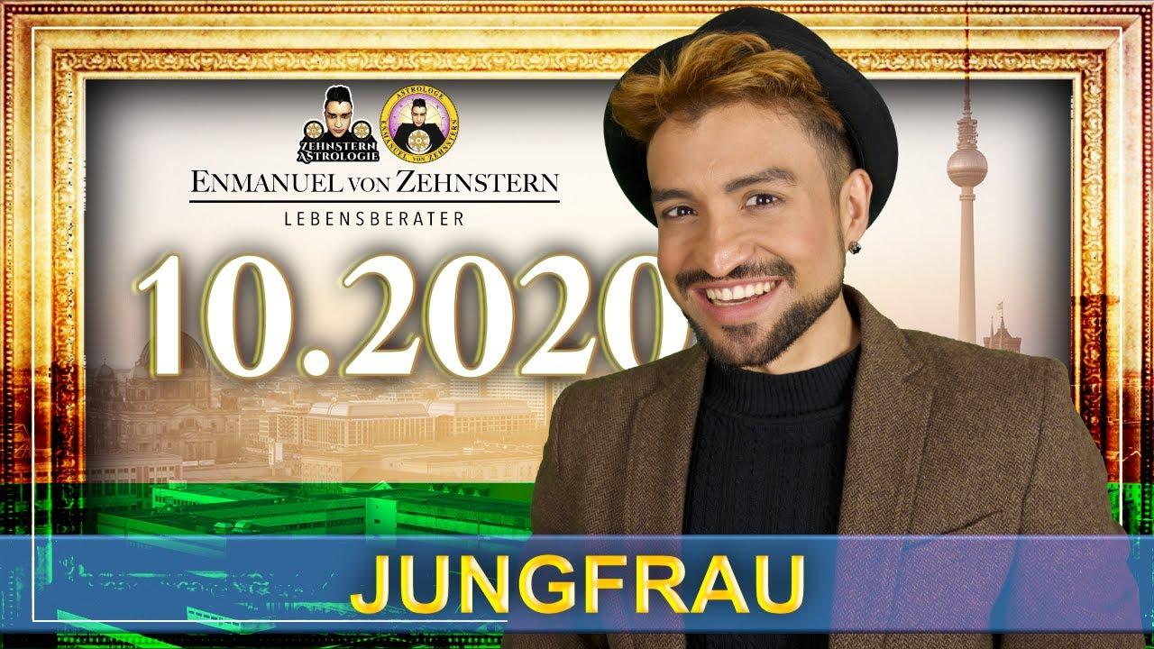 JUNGFRAU STERNZEICHEN UND ASZENDENT OKTOBER 2020   #ZehnsternAstrologie.com