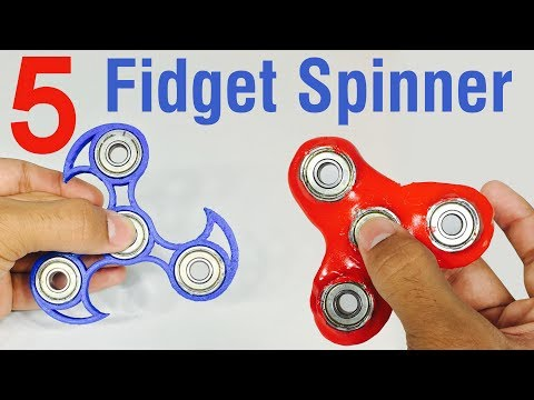 How To Make Fidget Spinners At Home - DIY 5 Types of Fidget Spinner - Indian LifeHacker