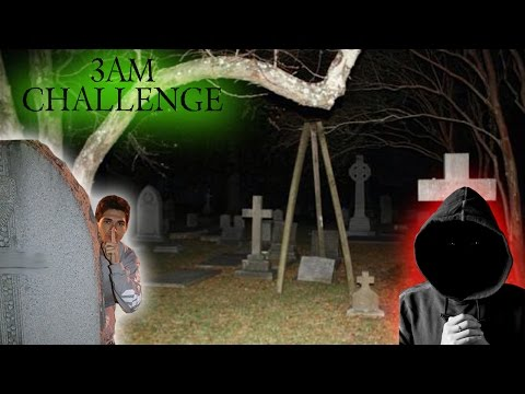 Thumbnail: 3AM CHALLENGE IN A CEMETERY // HIDE AND SEEK IN A CEMETERY ( PSYCHO CHASES ME )