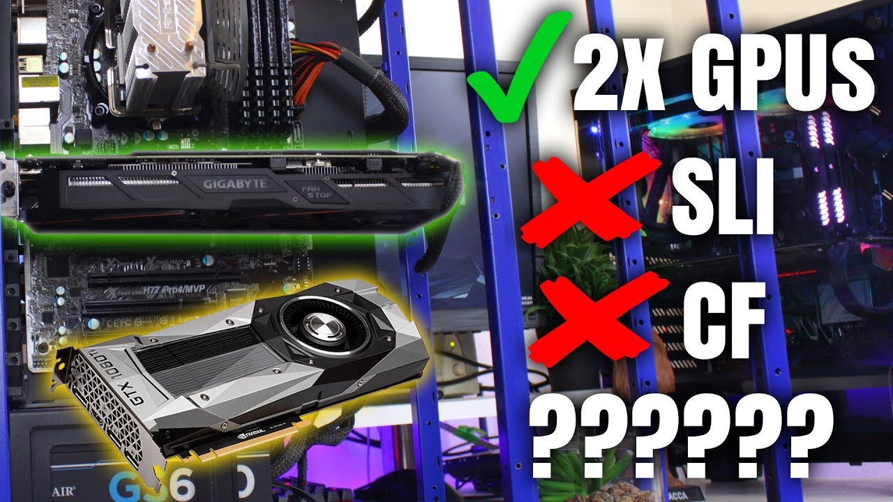 What To Do With Your Second Non SLI Or CF Graphics Card