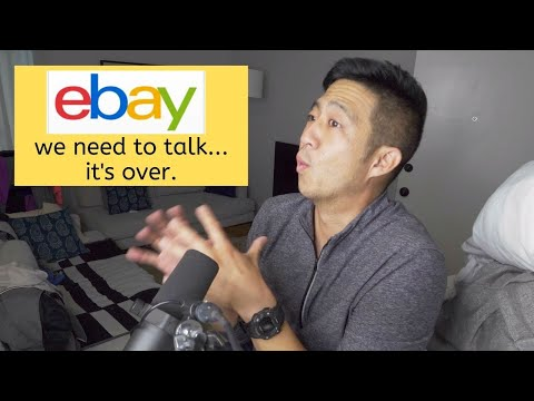 I'm breaking up with eBay...