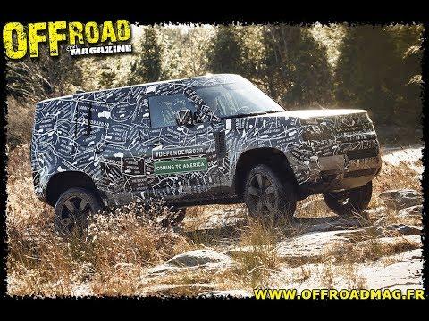 Land Rover New Defender 2020