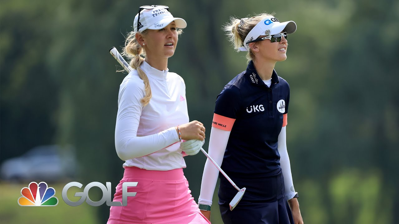 USA's Nelly Korda continues to dominate in hot third round of ...