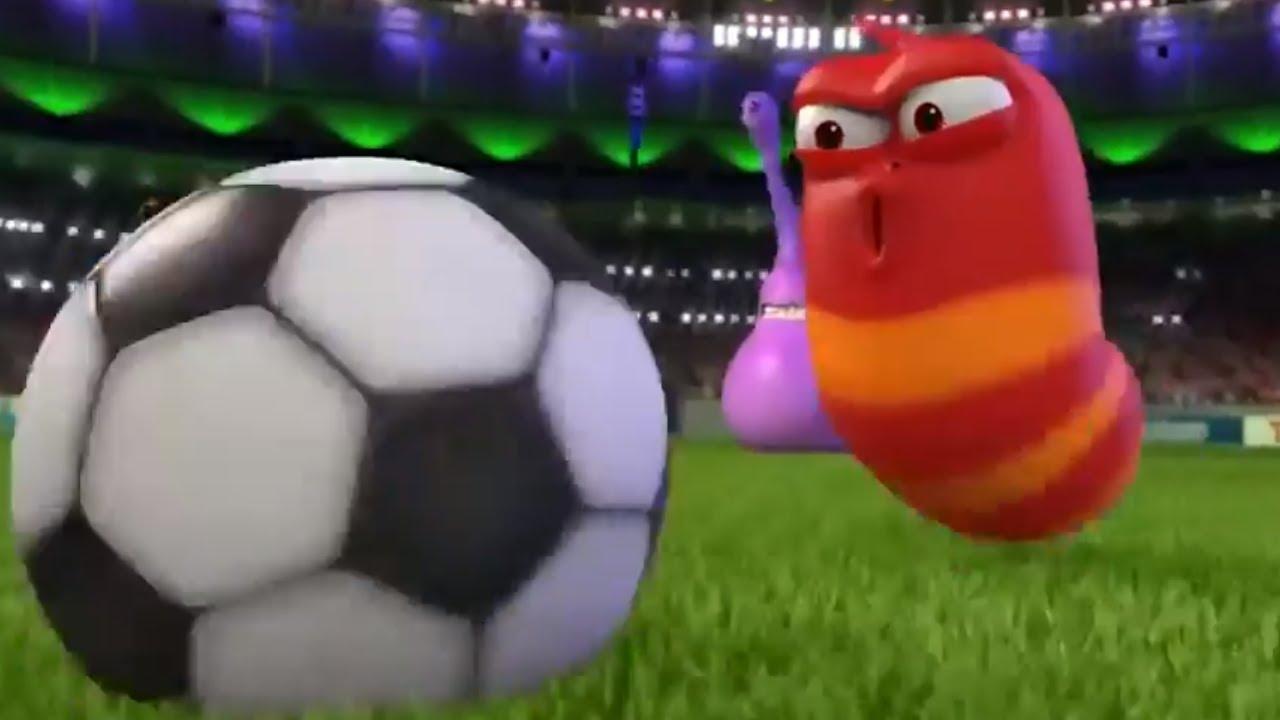 LARVA -THE GAME   Larva World Cup   Cartoons For Children   Larva Cartoon   LARVA Official