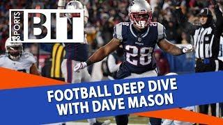 Deep Dive With BetOnline's Dave Mason | Sports BIT | Football Picks