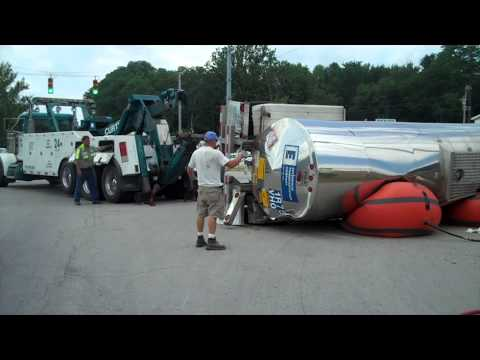 How to Turn Over a Semi
