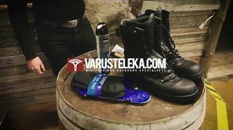 Varusteleka's Shoe Polishing