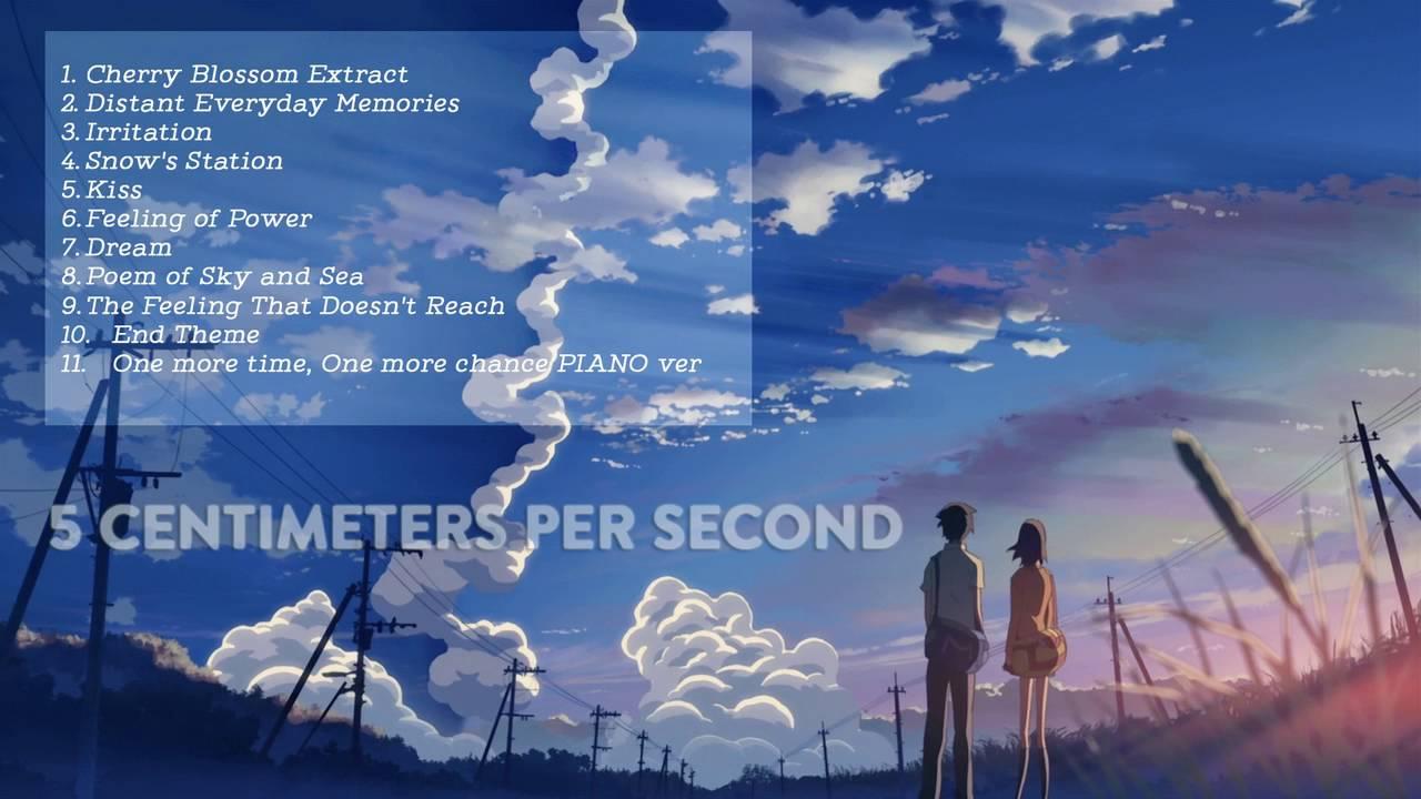 Soundtrack 5 Centimeters Per Second