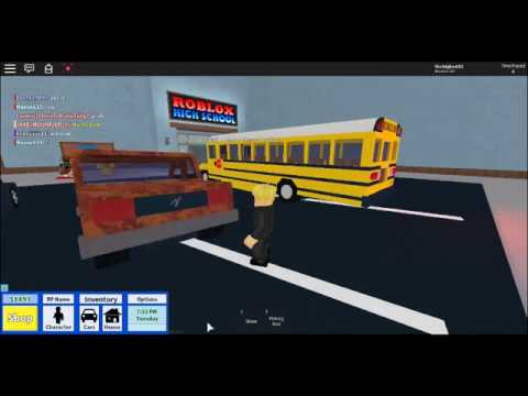Trying to troll people with a noob avatar part 1 (robloxian highschool) The vid cuts off