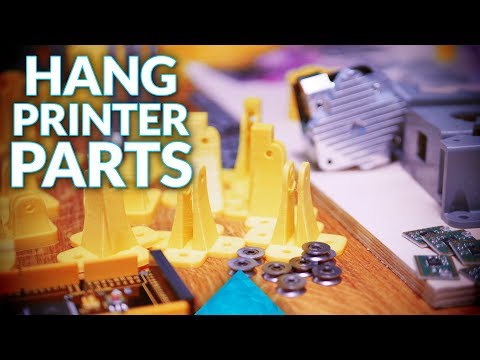Building the Hangprinter: Parts and Options!
